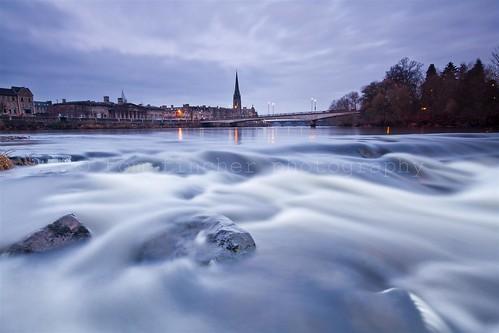 morning bridge reflection church water sunrise river dawn scotland perthshire scottish tay spire perth stmatthews