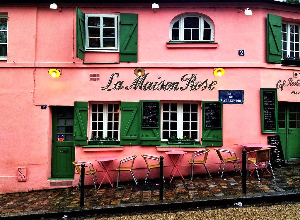 La Maison Rose, Montmartre | Martin Cox | Flickr