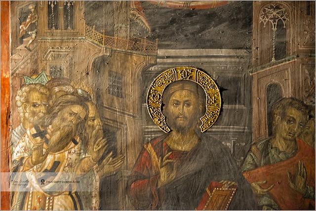 Biblic scene | Agios Ioannis Lampadistis Monastery, Cyprus
