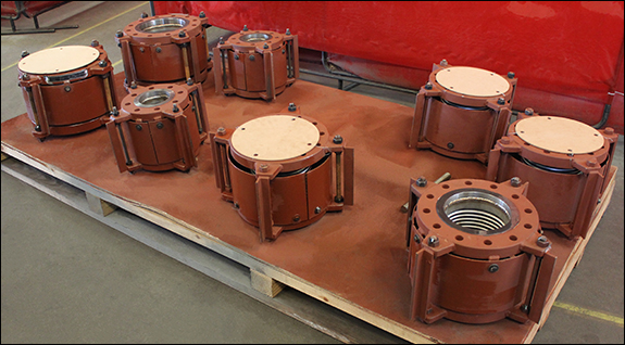 Single Expansion Joints Custom Designed for a Power Generation Application