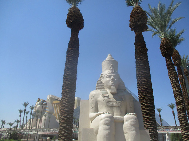Egyptian Royalty on the Strip