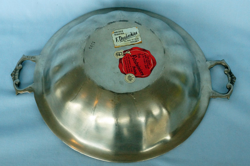 DSC01395 Belgian Pewter Bowl by Les Potstainiers Hutois