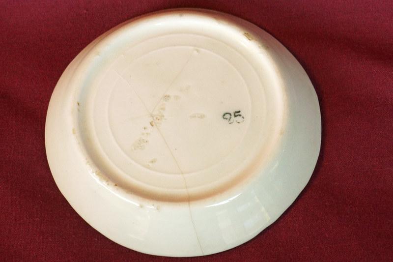DSC01841 Antique Painted Salt Dish