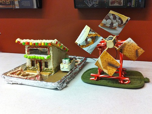 Green-Powered Gingerbread House   by Rumtopf