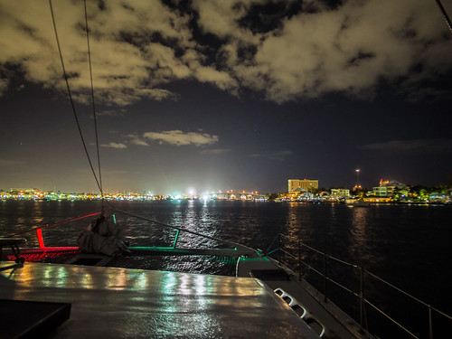 Nassau harbor at night | by Ed Rosack