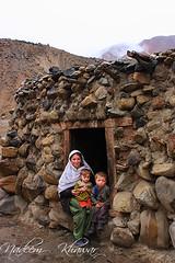 Shepherd family at  Baba Ghundi