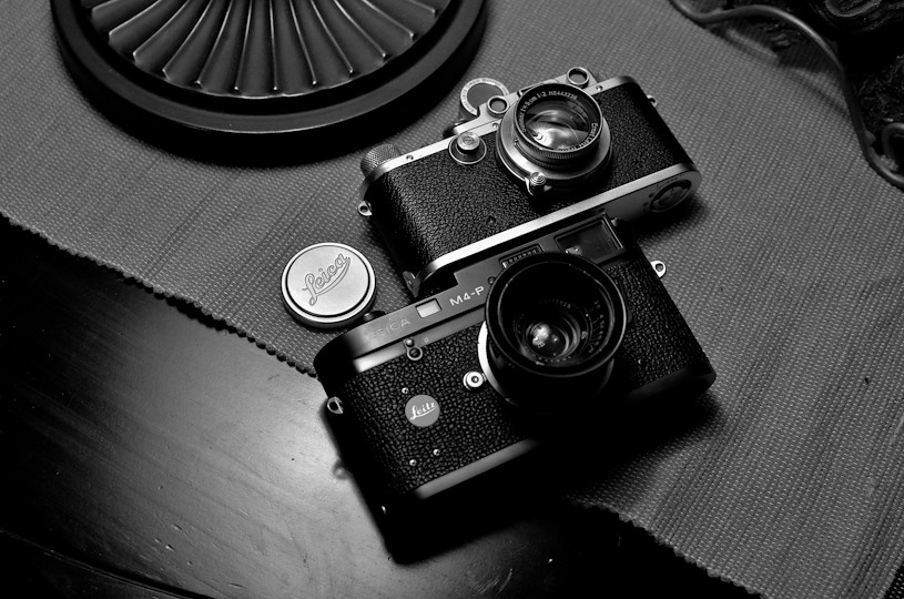 Leica iiia & Leica M4-P   leica iiia + summar 5cm f/2 (1938
