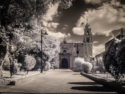Atrio de Iglesia.