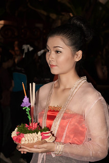 2012-11-28 Thailand Day 10 The annual Loy Krathong Festival and grand parade in Chiang Mai   by Qsimple, Memories For The Future Photography