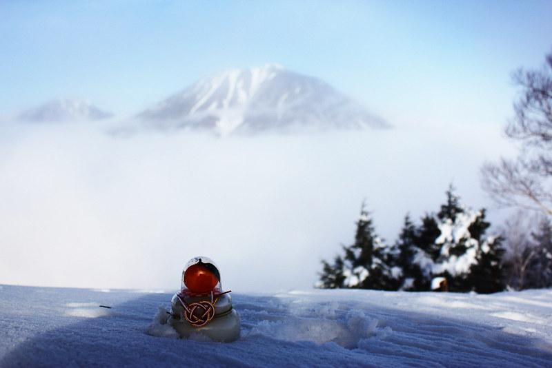 社山 雪山