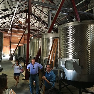 Old Sugar Mill Wine Vats   by Chris Mower