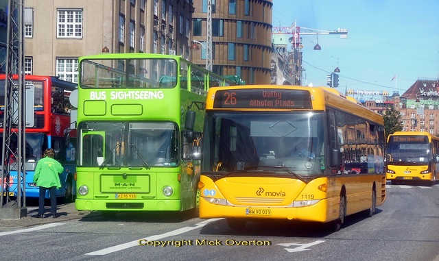 Scania Omnilink ARRIVA 1119 with VDL MAN & Volvo