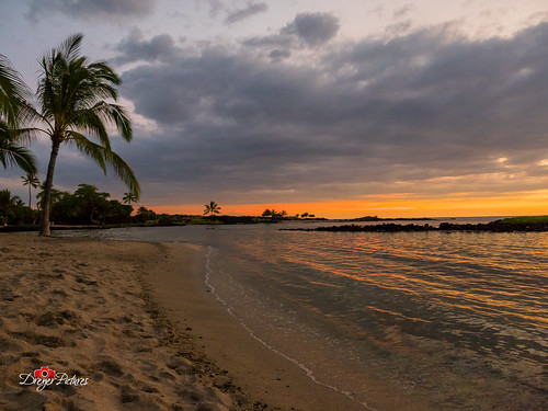 gx8 hawaii lumix m43 m43ftw microfourthirds mirrorless outdoor panasonic beach dusk island landscape lowlight night ocean sunset vacation kailuakona unitedstates us