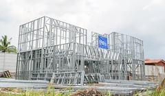 estructura instalada