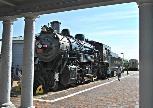 railroad travel arizona williams grandcanyon locomotive 2011