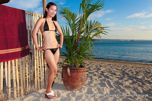 girls sunset sky beach canon calendar philippines models bikini filipina
