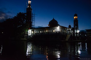 Mosque at night - Sengkang - Tempe lake | by Jerome Nicolas
