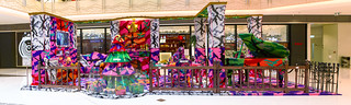 """Happiness is an inside job"" by Olek / pano-003-SML.20121218.7D.19808-SML.20121218.7D.19821"