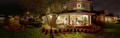 Our Ladner home at Christmas 2012 | by Gord McKenna