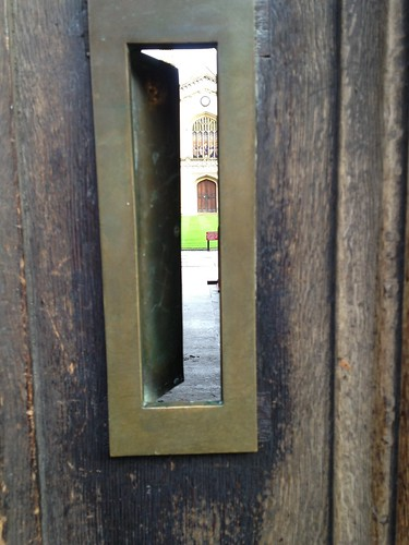Through the Corpus Letterbox | by BillT