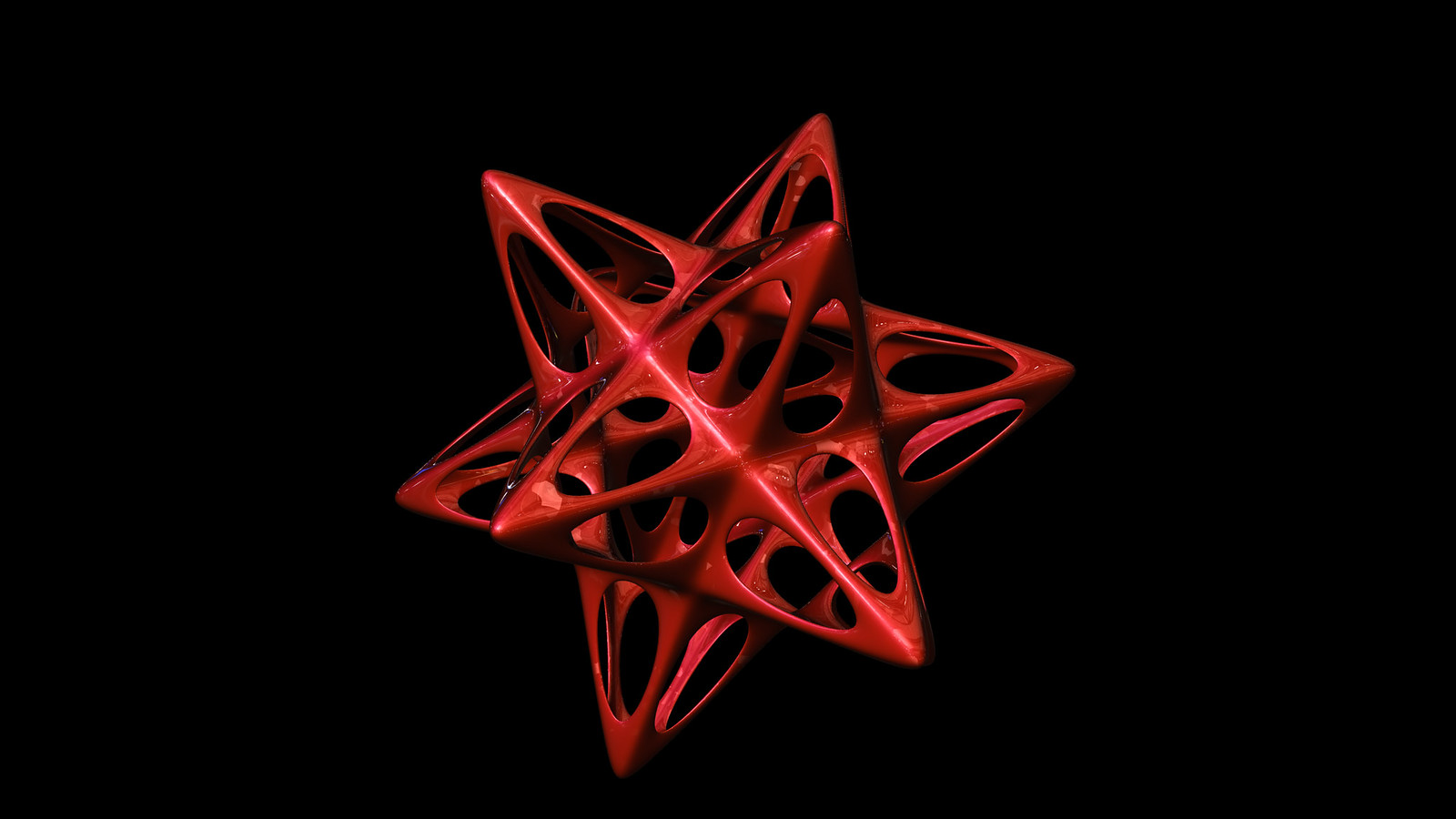 Dodecahedron spiky soft