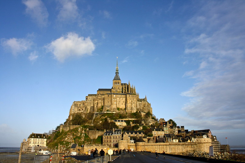 Mont-Saint-Michel, December 27th, 2012