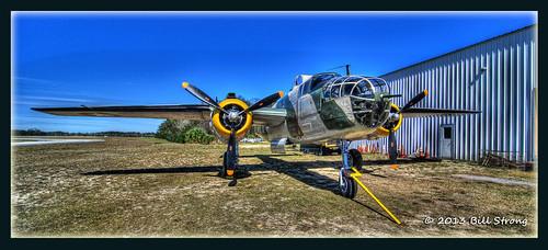 museum mitchell titusville bomber hdr warbird topaz b25j photomatix d80 3exp tokina1116mm valianaircommand