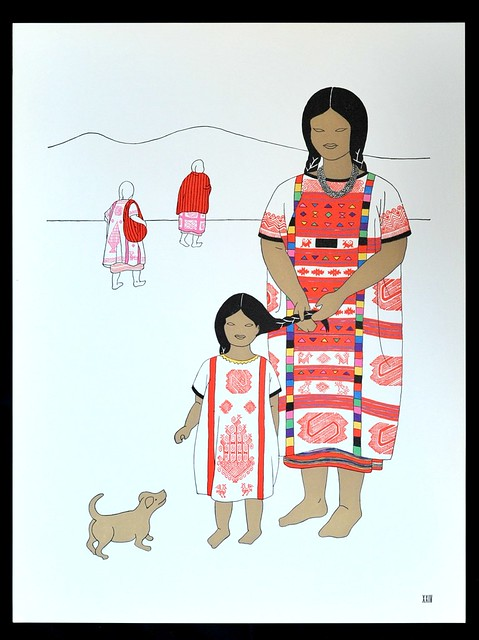 Oaxaca Mother and Child