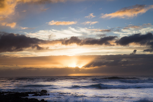 beach sunrise hawaii bigisland hawaiibeach kapoho