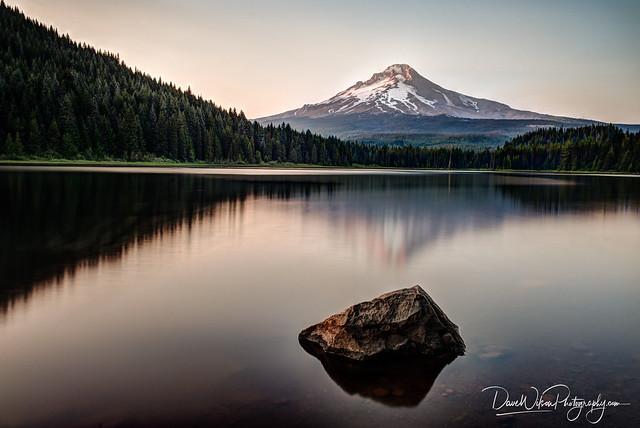 Mount Hood from Trillium Lake, Oregon
