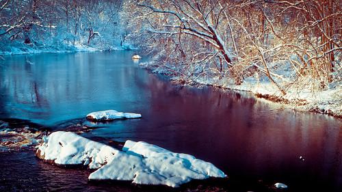 ri bridge snow landscape lumix g panasonic rhodeisland cranston vario 1445mm f3556 pawtuxetriver pawtuxetvillage gx1