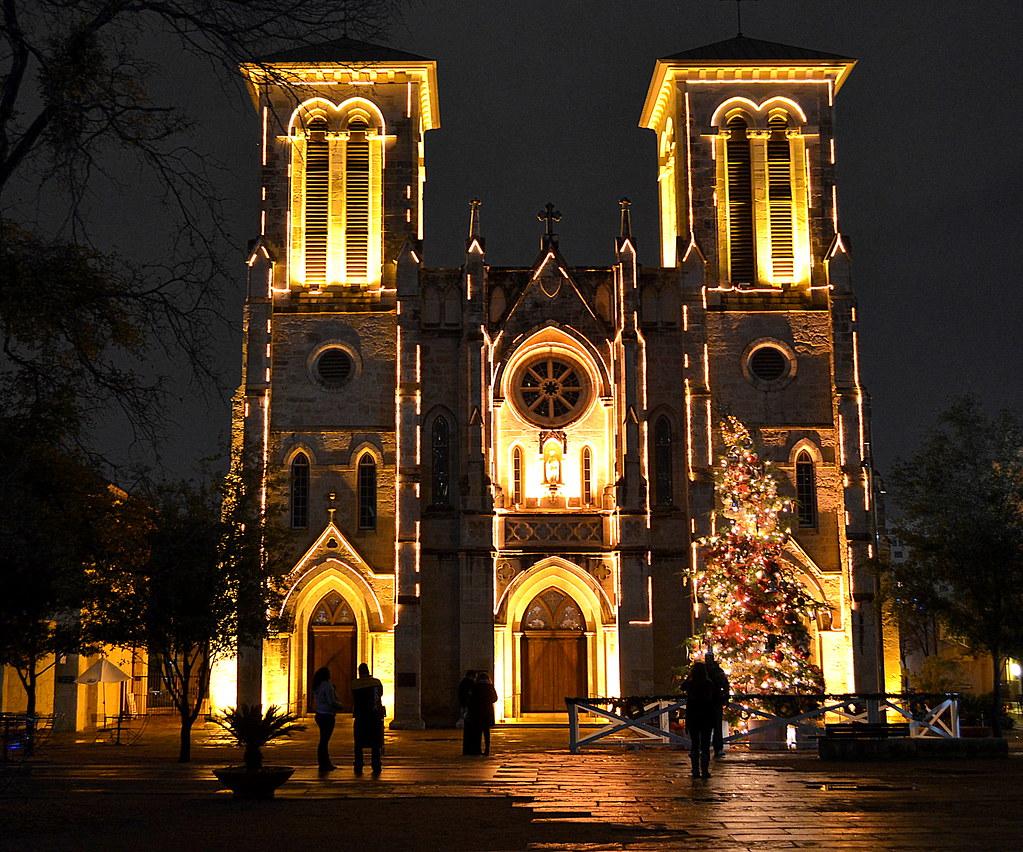 San Antonio on New Years Eve - San Fernando Cathedral | Flickr