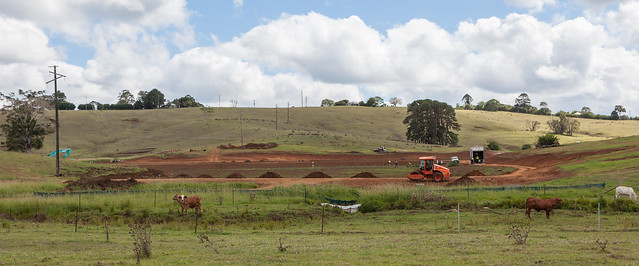 Wetlands Under Construction by Unitywater