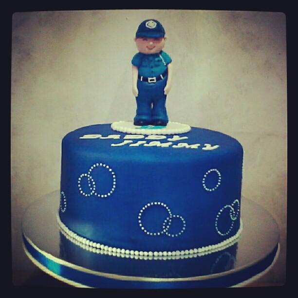 Miraculous Fondantcake Fondant Cake Birthday Birthdaycake Polic Flickr Funny Birthday Cards Online Hendilapandamsfinfo