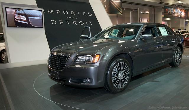 2013 Washington Auto Show - Upper Concourse - Chrysler 3