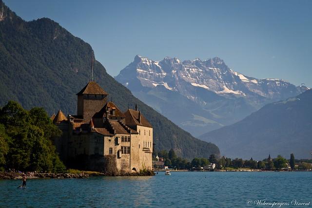 Chillon & les Dents du Midi ...
