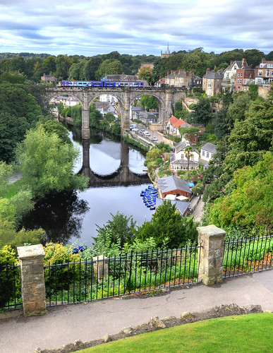 northyorkshire knaresborough rivernidd railwayviaducts trains rivers