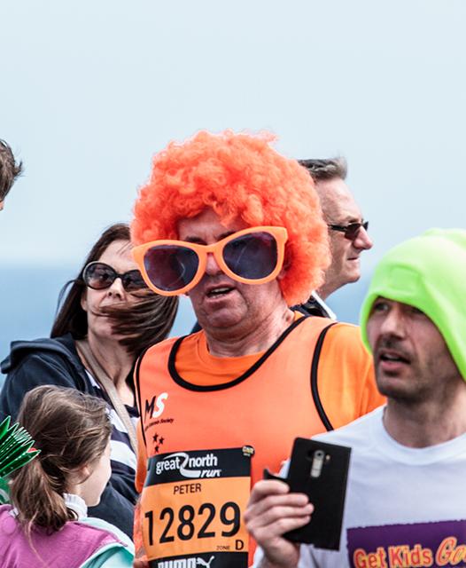 Great North Run Fun Runner