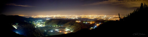 county panorama lake art nature silhouette rio night forest landscape utah mine exposure glow outdoor fine salt pit valley copper wilderness tinto kennecott