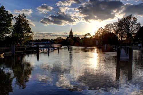 sunset england church thames day marlow flickrdiamond blinkagain bestofblinkwinners blinksuperstars pwpartlycloudy
