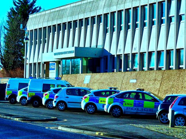 South Yorkshire Police, Doncaster Police Station. UK.