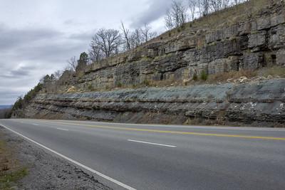 Pennington Formation, US 70, White Co, TN
