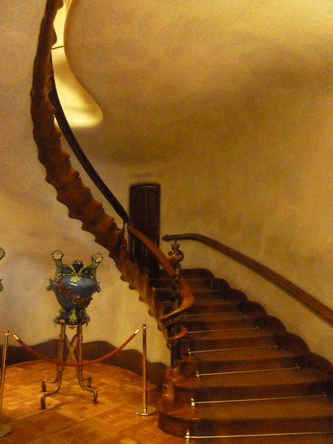 Main Staircase, Casa Batllo, Barcelona