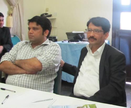 (R-L) Mohammed Indorarama and Rajiv Bhaskar of Indorama team at the workshop | by Propcom Mai-karfi