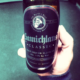 Samichlaus Classic. 14% and soooo good. More like nectar, then beer. #2D1F | by drewdomkus