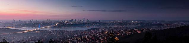 The two Bosphorus bridges