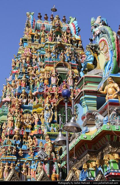 Sri Kali Hindu Temple, Yangon, Myanmar