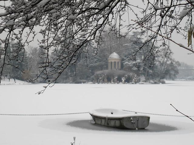 Lac Daumesnil - Bois de Vincennes, Paris (75) [Explore du 19 janvier 2013]
