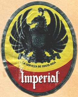 Costa Rica - Imperial Beer (Label)