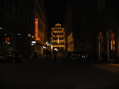 Koln city lights